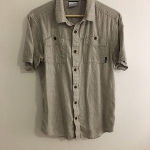 Columbia Southridge Hemp Blend Button Down Shirt